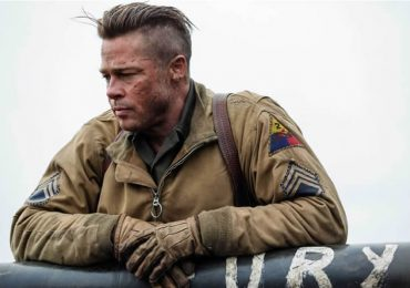 coupe cheveux undercut fury brad pitt
