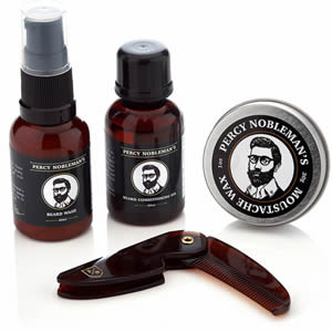 Coffret entretien barbe Percy Nobleman